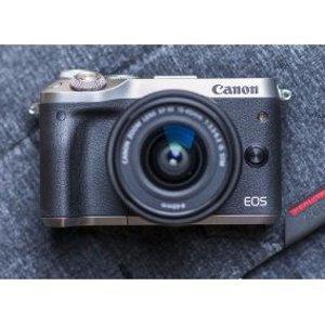 送$100礼卡Canon 佳能 EOS无反光镜系列热卖