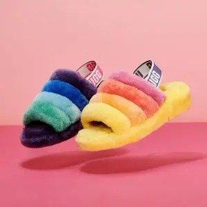 低至5折 经典驼色中筒$99UGG官网 雪地靴年中大促 get时尚博主同款毛拖鞋