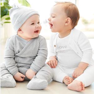 5折起+满$40额外8折Carter's童装官网  全新新生宝宝系列,包臀衫套装降价