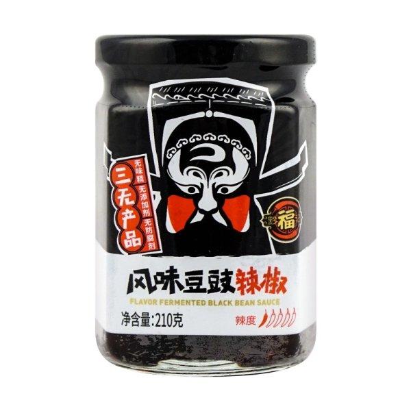 黔福记 风味豆豉辣椒 200g