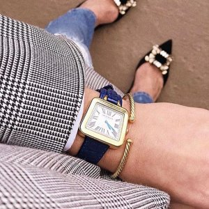 68% OffBruno Magli Italian Leather Double Wrap Women's Watches