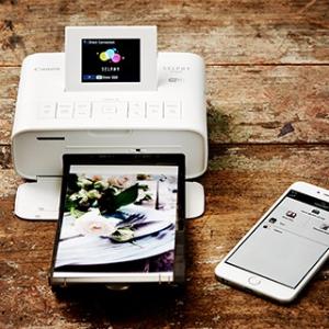 $127.2 内附粉丝测评Canon SELPHY CP1200 无线照片打印机