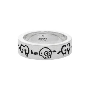 Gucci晒货同款,官网定价$310骷髅戒指