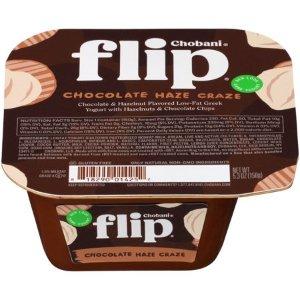 Chobani Flip, Chocolate Haze Craze Low-Fat Greek Yogurt, 5.3 oz - Walmart.com