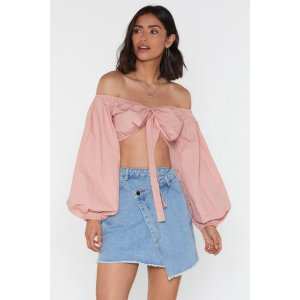 That's Big of You Balloon Crop Top | Shop Clothes at Nasty Gal!