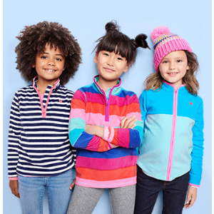 $8 and Up + Free shippingOshKosh BGosh Kids Fleece Cozies Doorbuster Sale