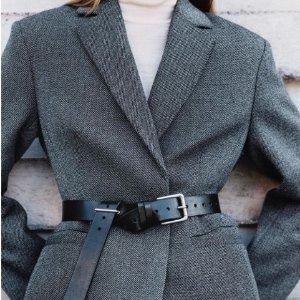 8.5折!€73收短款夹克Arket 北欧风简约大衣、羽绒服专场 让你潇洒温暖一秋冬