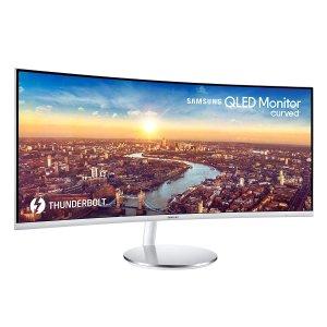 "SAMSUNG LC34J791WTNXZA 34"" CJ791 Ultrawide Curved Gaming Monitor"