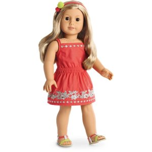 American GirlSunny Day Dress for 18-inch Dolls