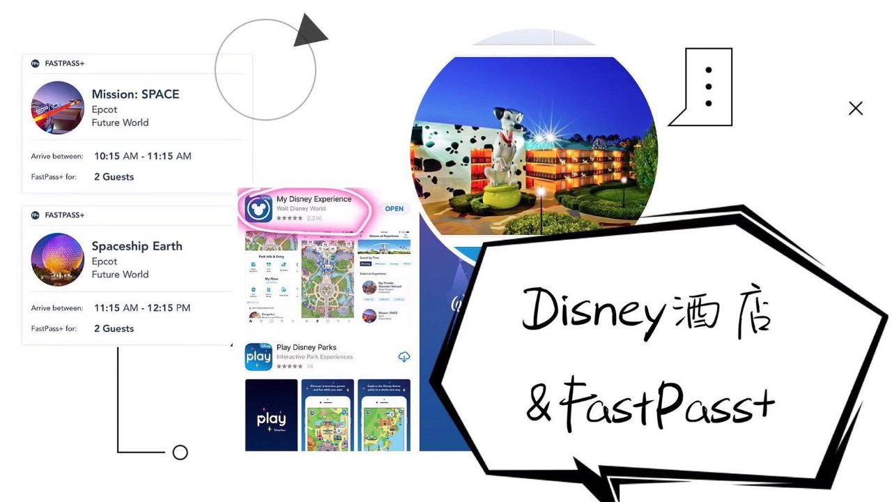 奥兰多迪士尼 | 一天四园攻略之酒店&FastPass+
