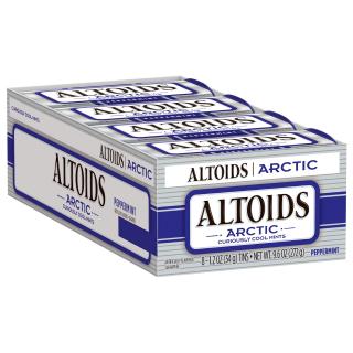 $8.53 随时随地清新口气Altoids Artic 冰凉薄荷糖 1.2oz 8盒