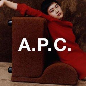 全场5折+额外85折 $47收T恤独家:A.P.C. 永不过时的日常穿搭特卖 白菜价收衬衫、毛衣