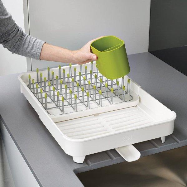 可伸缩餐具滤水架