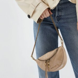 Free ShippingCharles & Keith Wrinkled Effect Crossbody Bag