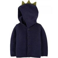 Carter's 婴儿全棉恐龙针织外套