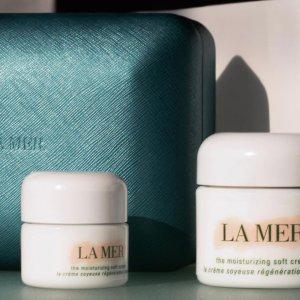 满送价值$393好礼最后一天:La Mer 套装区热卖 收浓缩眼霜、经典面霜套装