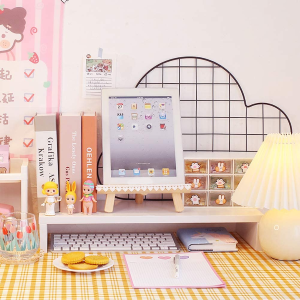 €7.68收樱花粉置物架Amazon 桌面好物汇总 打造INS风舒适区 在家上班心情好