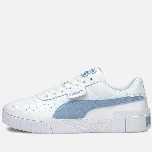 PumaWomen's Cali Perforated婴儿蓝小白鞋