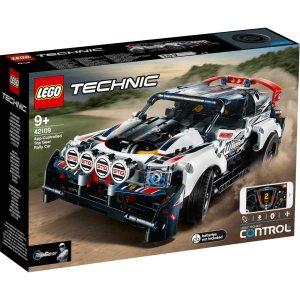 Lego2020新款首降!APP 遥控拉力赛车 (42109)