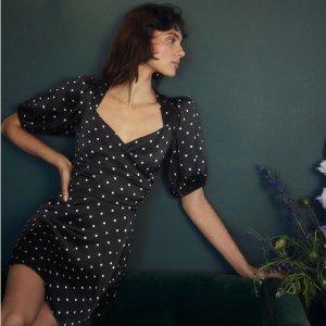 低至6折 欧美明星爱牌Reformation  美衣美裙热卖,复古加州女孩