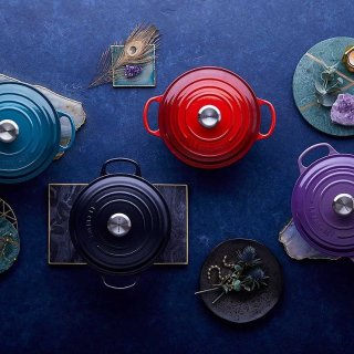 低至6折 £16收mini 炖汤盅Le Creuset 法国著名珐琅铸铁锅 精选网红款热卖