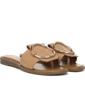 Franco Sarto买2双享7.5折,买3双享7折平底拖鞋
