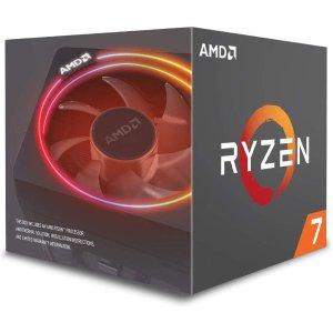 AMD 锐龙 Ryzen 7 2700X 处理器 带LED散热器