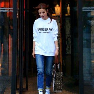 8折 €376收封面赵薇同款上衣折扣升级:BURBERRY 美衣美包大促 英伦经典格纹系列