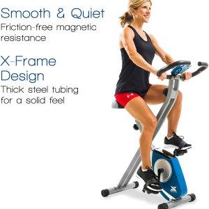 $143.59 (原价$176)补货:XTERRA Fitness FB150 可折叠健身自行车   拒绝肉肉缠身