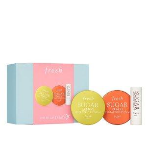 变相低至3.3折独家:Fresh 精选护肤套装 唇膏套装还有货