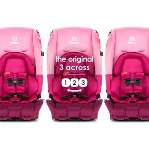 $299包邮 (原价$359.99)Diono radian 3 RX 高级灰儿童安全座椅 120磅