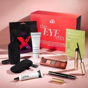 变相3.7折 仅€42.5收(价值超115)Cultbeauty 眼部美妆盒子 含ND眼影盘、Inkey咖啡因眼霜等7件