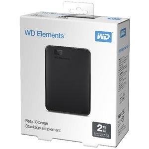 $97(原价) 包邮惊喜价:WD 西部数据 2TB 便携移动硬盘