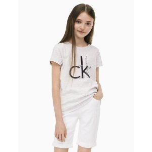 Calvin Kleingirls ck logo t-shirt