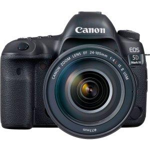 CanonCanon EOS 5D Mark IV DSLR Camera with EF 24-105mm f/4L IS II USM Lens