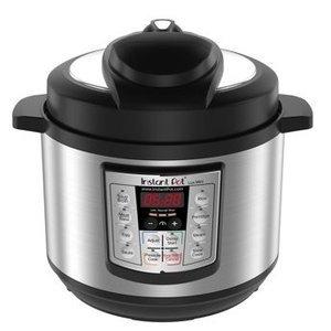 $58.75(原价$99.95)Instant Pot IP-LUX60 六合一3夸脱多功能数码电压力锅