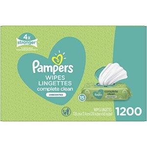 Complete Clean 婴儿清洁湿巾 1200张
