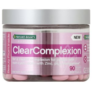 Nature's Bounty BeautyClearComplexion 净痘护肤胶囊