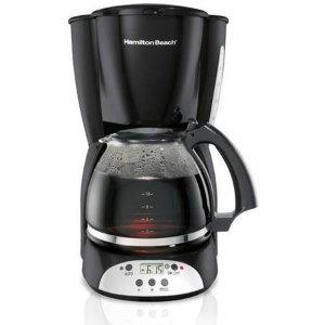 $16.88Hamilton Beach 家用可编程咖啡机 12杯量