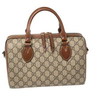 Gucci老花波士顿手提包