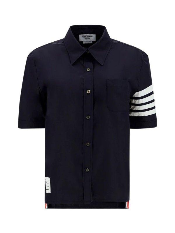 4-Bar 短袖衬衫