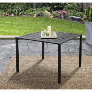 $26.81Mainstays 方形金属户外庭院餐桌
