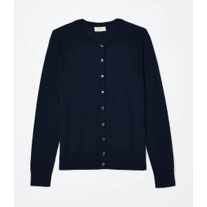 LOFT OutletExtra 15% off 3+ Tops & SweatersCrew Neck Cardigan