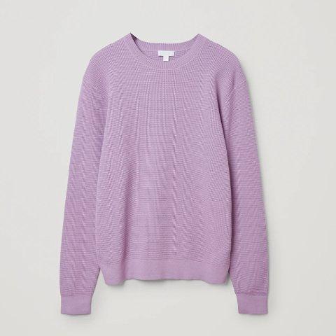 全部5折+叠9折 £26就收开衫折扣升级:COS 毛衣针织衫大促上新 收秋冬简约穿搭