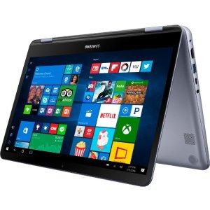 $549.99(原价$899.99)Samsung Notebook 7 Spin 13吋触屏变形本(i5-8250U, 8GB, 512GB)