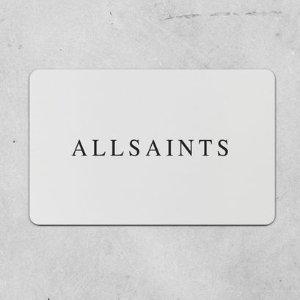 低至4折 印花衬衫仅£30 冰淇淋夹克仅£68折扣升级:AllSaints 奥莱区超好逛 皮衣毛衣大衣全在线 手慢无