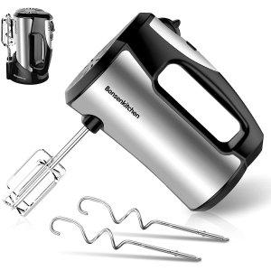 Bonsenkitchen Electric Hand Mixer, 5-Speed