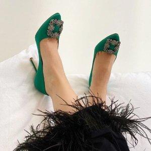 无门槛8.5折 收封面款Manolo Blahnik 美鞋热卖 热门色码全