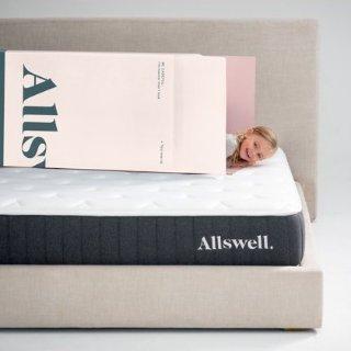 $180起 低至7折Allswell 全新10英寸创新弹簧记忆棉床垫热卖