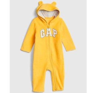 最后一天:GAP官网 儿童服饰折扣区1.7折起+额外4折